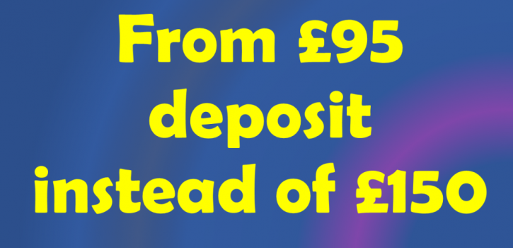 Reduced Deposit Promotion